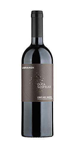 Librandi Vino Cir Rosso Classico Superiore Riserva Duca Sanfelice - 2017-6 Bottiglie da 750 ml