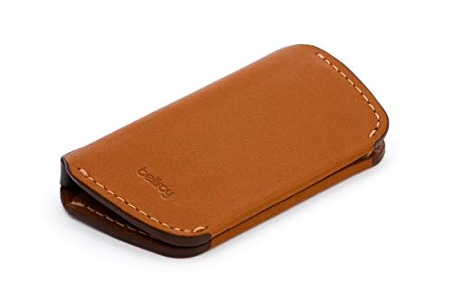 Bellroy・ベルロイ Leather Key Cover Second Edition キーケース 本革 (鍵4つまで収納可) - Caramel