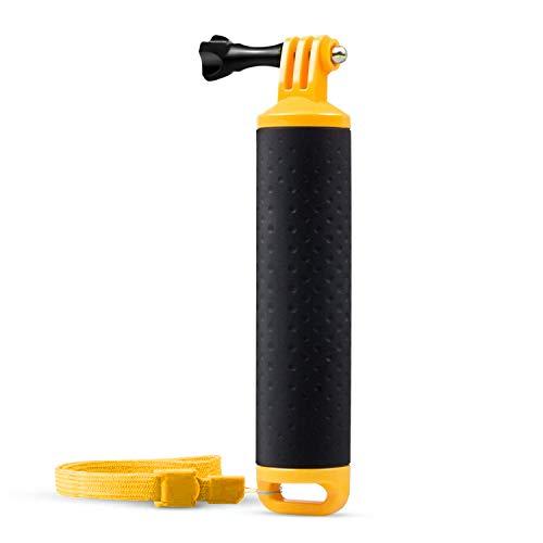 APEMAN Handle Mount Floating Grip impermeabile braccio autopulente per mano Handie Grip per la macchina fotografica d'azione con cinghia e vite a polso registrabile