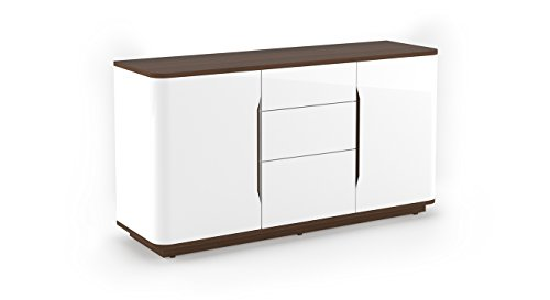 Urban Ladder Baltoro 59' Wide High Gloss Sideboard (Finish : White)