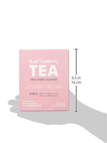 Flat Tummy Tea 2-Week Detox Herbal Tea to Help Kick That Bloated and Sluggish Feeling 2 - My Weight Loss Today