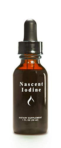 Enviromedica Nascent Iodine High Potency Liquid Drops for Support and Detoxification of the Thyroid (1ounce)