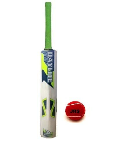 JRS Kids Cricket Bat with Ball for Kids Size 5 (Sticker multibrands) 8-12 Years Boys