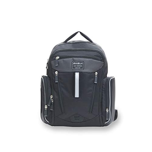 Eddie Bauer Places & Spaces Sport Diaper Bag Backpack, Black