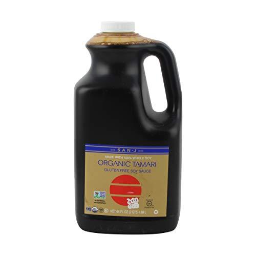 San-J Organic Tamari Soy Sauce, Gold Label, 64 Ounce
