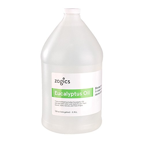 Zogics Eucalyptus Steam Room Spray (1 Gallon)