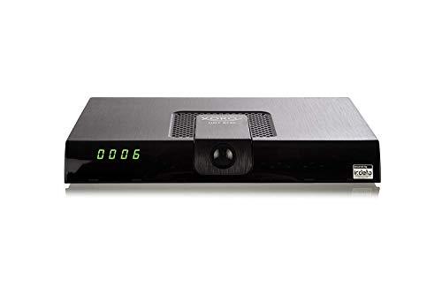 Xoro HRT8720HEVC DVB-T/T2Receiver(HDMI, H.265, kartenloses Irdeto-Zugangssystem für freenet TV, Mediaplayer, PVR Ready, USB 2.0, 12V) Schwarz