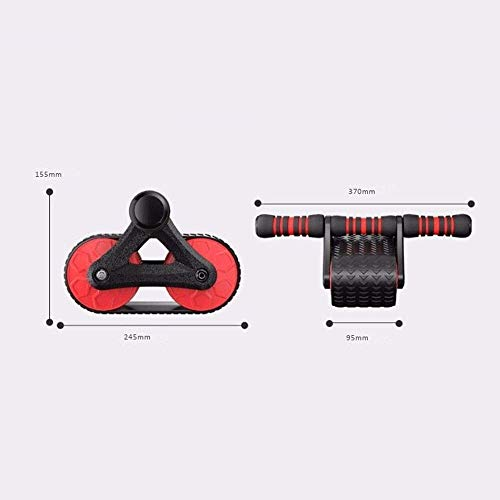 DWLXSH Ab Wheel Roller Abdominal Exercise Wheel,Home Fitness Exercise Equipment,Ideal for Body Fitness Strength Training Home Gym 3