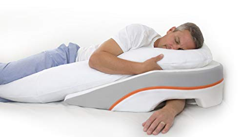 MedCline Acid Reflux Relief Bed Wedge and Body Pillow System | Medical Grade and Clinically Proven Acid Reflux and GERD Relief, Size: Large