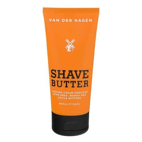 Van Der Hagen Shave Butter - 6 Fl Oz (Pack of 16)