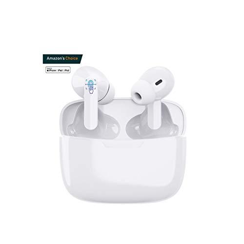 Écouteurs sans Fil Bluetooth 5.0, IPX7 écouteurs étanches Sportifs, Binaural Couplage Automatique, 3D Stéréo HiFi, Microphone intégré, pour/iPhone Android/Apple Airpods Pro/Huawei/Samsung/Xiaomi