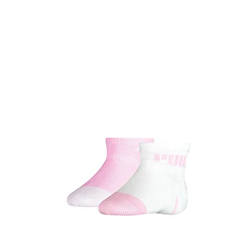 PUMA Baby Mini Cats Lifestyle Socks (2 Pack) Calzini, Pink Lady, 19-22 Unisex-Bimbi