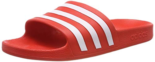 Adidas Adilette Aqua Zapatos de playa y piscina Unisex adulto, Multicolor (Multicolor 000), 44 1/2 EU (10 UK)
