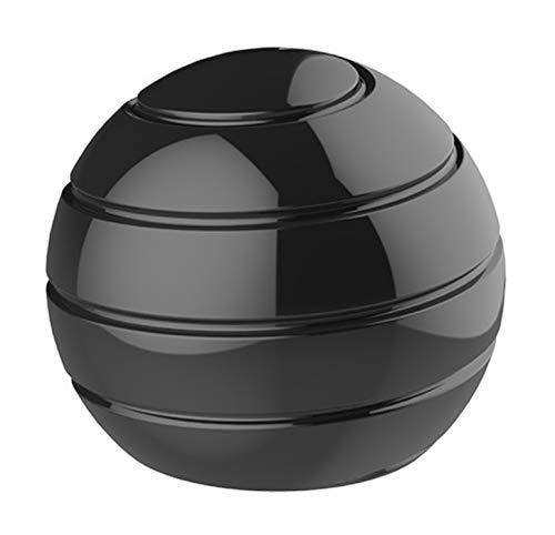 CaLeQi Kinetic Schreibtischspielzeug Office Metal Spinner Ball Gyroskop mit optischer Täuschung...
