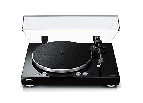 YAMAHA Vinyl 500 (TT-N503) MusicCast Streaming Plattenspieler Schwarz