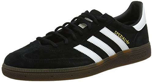 adidas Handball Spezial, Zapatillas de Gimnasia Hombre, Negro (Core Black/FTWR White/Gum5), 44 2/3 EU