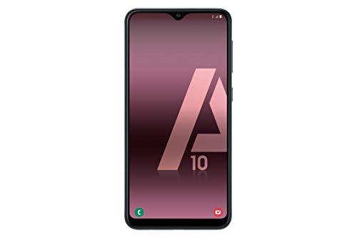 """Samsung Galaxy℗ A10 - Smartphone de 6.2"""" HD Infinity (32 GB, Dual-SIM, 3400 mAh), Color Negro [Versión española]"""