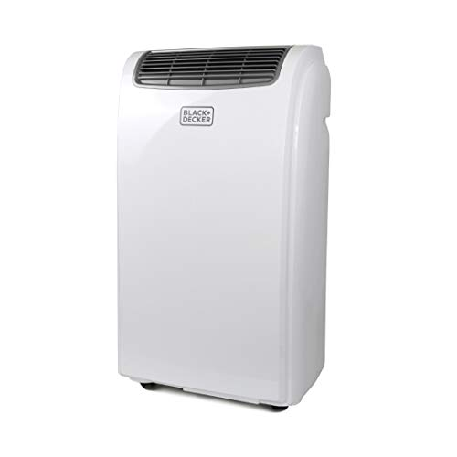 BLACK+DECKER BPACT08WT Portable Air Conditioner, 8,000 BTU, White