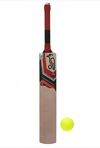 PMG Hotspot Tennis Cricket Bat Size 3 with 1 Ball for 6-9 Years Kids Cricket Kit