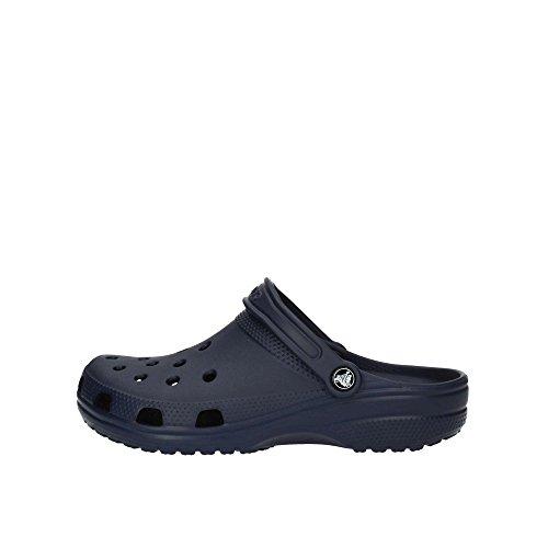 Crocs Women's Classic Clog | Comfortable Slip on Casual Water Shoe, Navy, 10 M US Women / 8 M US Men