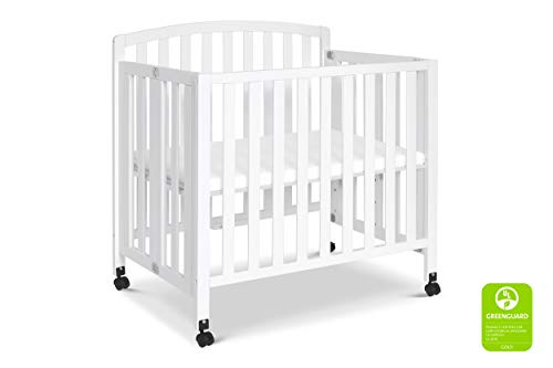 Product Image 2: DaVinci Dylan Folding Portable 3-in-1 Mini Crib and Twin Bed in White, Greenguard Gold Certified