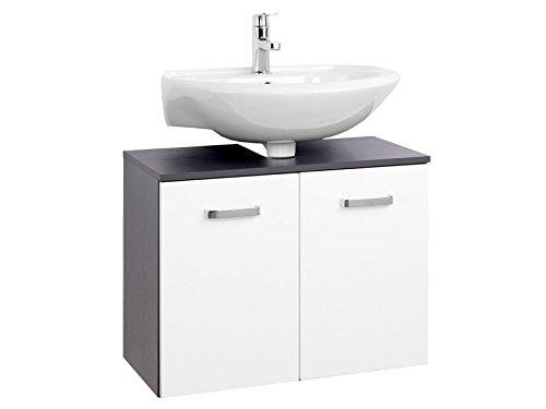 möbelando Unterbeckenschrank Badmöbel Waschbeckenunterschrank Schrank Bad Bologna VI 70 cm