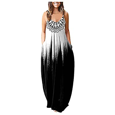 ♥【Skin-Friendly Material】: Polyester - High quality material, This dress is soft fabric with a little stretchy and light weight. Comfortable to wear at any time. ♥【Size Tips】: Please check the size details before you purchase; If you like loose style...