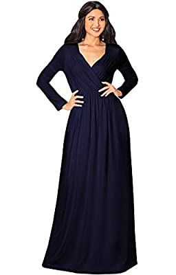 Floor length plus sized long sleeved dresses and gowns for women; full figure maxi's for the curvy lady; womans versatile floor length Dark Navy Blue dresses with full sleeves; ladies oversize dress; slimming evening gowns; flattering frocks Long sle...