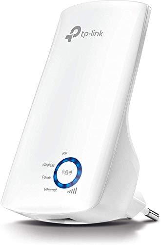 TP-Link Répéteur WiFi(TL-WA850RE), Amplificateur WiFi N300, WiFi Extender, WiFi Booster, 1 Port Ethernet, couvre jusqu'à 90㎡, Compatible avec toutes les box internet