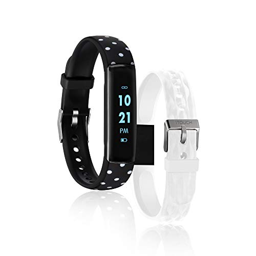 iTouch Slim Waterproof Fitness Activity Tracker, Heart Rate...