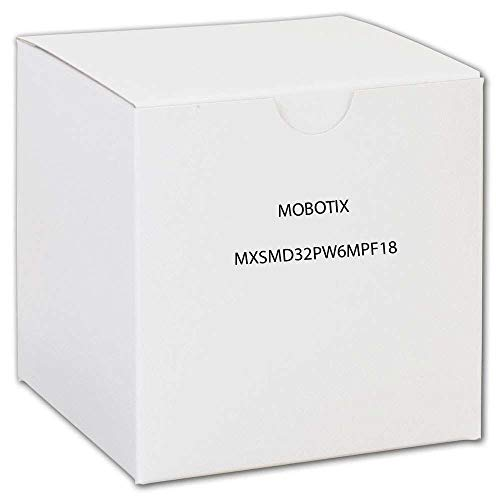 Mobotix MX-SM-D32-PW-6MP-F1.8 - Módulo sensor diurno para videovigilancia, color: negro / blanco