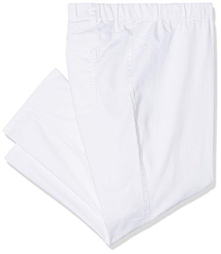 ULLA POPKEN 7/8 Jeggings Overdyed Leggings, Bianco (Bianco 20), 54 Donna