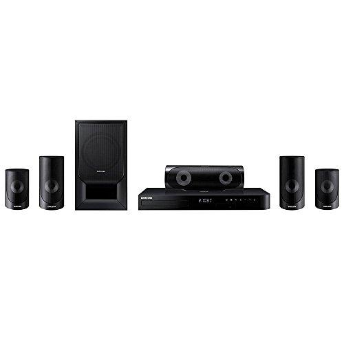 Home Theater Blu-ray 3d Samsung Ht-j5500k Bluetooth, Usb, Hdmi, Karaokê - Bivolt