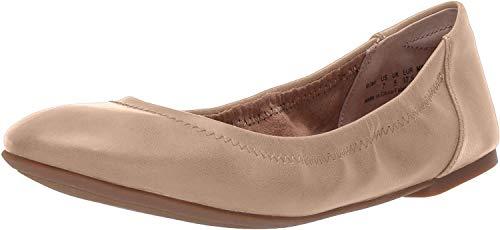 Amazon Essentials – Zapatos planos para mujer, Beige Nude, 6 B US (EU 36-37)
