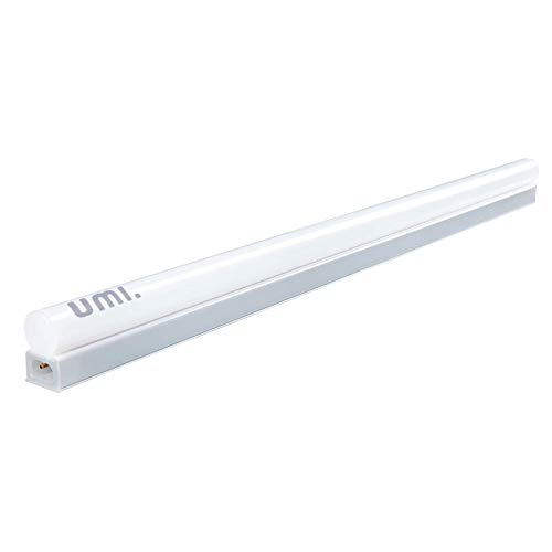 Umi. by Amazon, tubo a LED T5 da 61 cm estensibile, 900 lumen, ultrasottile e luminoso, con cavo di estensione addizionale, confezione da 1