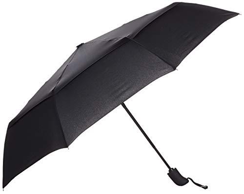 AmazonBasics Automatic Travel Small Compact Umbrella With Wind Vent