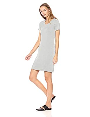 This essential T-shirt dress features a scoop neck and a relaxed fit for an effortless look that's ready to style Luxe Jersey - Perfectly rich, smooth fabric that beautifully drapes Start every outfit with Daily Ritual's range of elevated basics - ch...