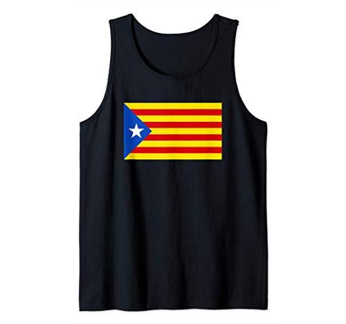 Estelada Blava - Bandera Senyera estelada Camiseta sin Mangas
