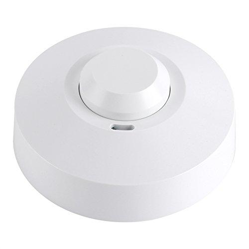 Sensore di movimento ad infrarossi passivo a 360°,Interruttore della luce Sensore a microonde...
