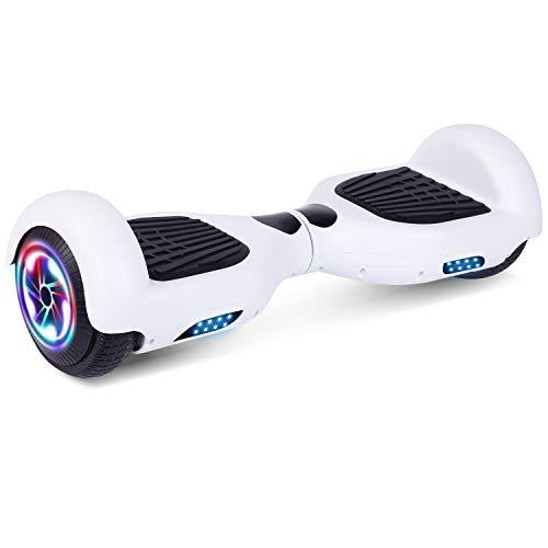 YHR Hoverboard da 6,5 Pollici per Bambini e Adulti, 2 Ruote Hoverboard autobilanciante con Luce...