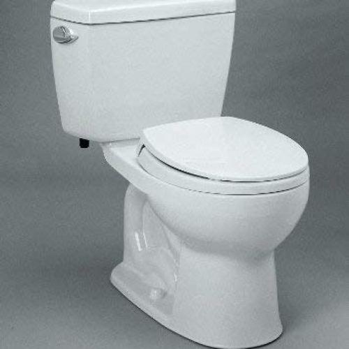Toto Drake Round Bowl and Tank Two-Piece Toilet
