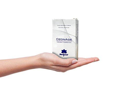 Crema antirughe arricchita di ozono; protegge raggi UV; rigenerante del tessuto; elasticizzante; antiossidante