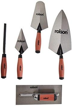 Rolson Tools 52489 Ensemble de truelles 5 pièces (Import Grande Bretagne)