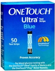 OneTouch Ultra Blue Test Strips - 50 ct