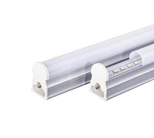 Gloriashoponline Sottopensile barra led neon T5 tubo plafoniera luce bianca calda naturale (50cm 9 watt, luce bianca naturale 4000k)