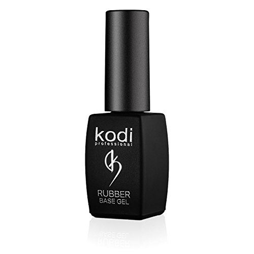 Professional Rubber Base Gel By Kodi | 8ml 0.27 oz | Soak Off, Polish Fingernails Coat Gel | For Long Lasting Nails Layer | Easy To Use, Non-Toxic & Scentless | Cure Under LED Or UV Lamp