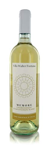 Villa Walter Fontana Vino Bianco ''Memore'', Chardonnay & Sauvignon Blanc Della Valtellina, Annata 2019, 75 Cl