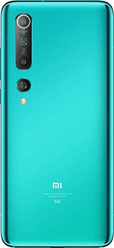 (Renewed) Mi 10 (Coral Green, 8GB RAM, 256GB Storage) - 108MP Quad Camera, SD 865 Processor, 5G Ready 8
