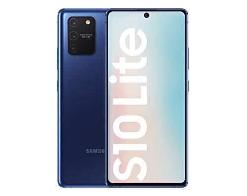 """Samsung Galaxy S10 Lite - Smartphone de 6.7"""" FHD+ (4G, 8GB RAM, 128GB ROM, cámara trasera 48MP+12MP(UW)+5MP(Macro)+5MP, cámara frontal 32MP, Octa-core Snapdragon8150), Prism Blue [Versión española]"""