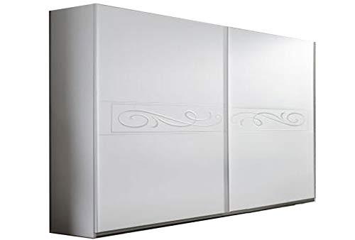 LIGNEMEUBLE Lady Bianco Camera da letto Design: Armadio 220 Altezza 210